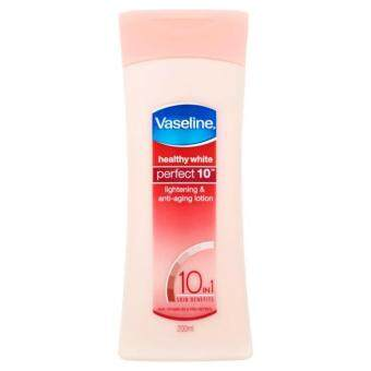 Harga Vaseline Healthy White Perfect 10 Lotion 200ml