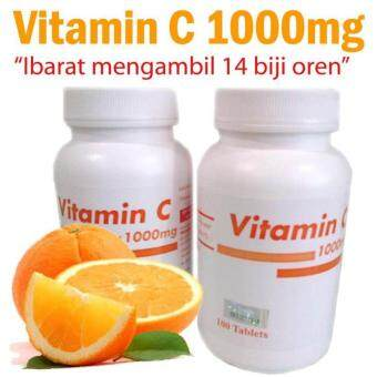 VITAMIN C PAHANG PHARMA 1000mg 100 tablets