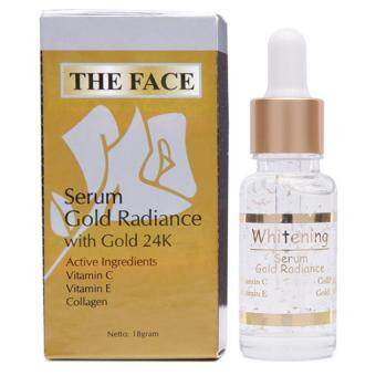 ( X 2 ) The Face - Serum Gold Radiance With 24k Gold
