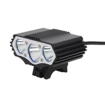 Harga 12000Lm 3 x XML T6 LED 4 Modes Bicycle Lamp Bike Light HeadlightCycling To