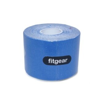 5cm x 5m Fitgear Kinesiology Tex Tape (Blue)