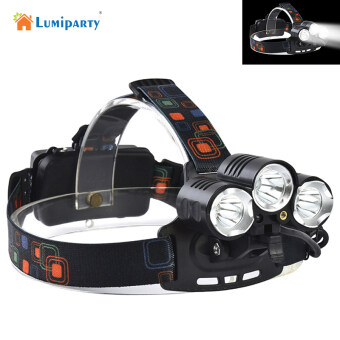 Harga 8000Lm CREE XML T6+2R5 LED+red LED With laser Headlight HeadlampHead Lamp Light 4-mode torch for fishing Lights