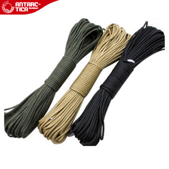 ANTARCTICA Antarctica high quality Army Regulation 7 core nylonparachute rope escape rope hanging down tied rope