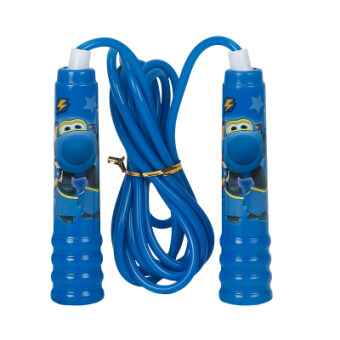 Aojie super flying man skipping le di small love cool fly a lot of plastic skipping rope skipping kindergarten special skipping rope can be adjusted