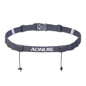 Aonijie E4050 Running Marathon Belt With Number Strap & 6 Loopsfor Energy Gel