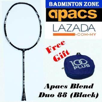 Apacs Blend Duo 88 (Black) + Free Gift Badminton Racket