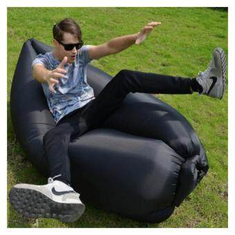 Harga BUGZ SPORT Inflatable Outdoor & Indoor Lazy Air Bag - Black