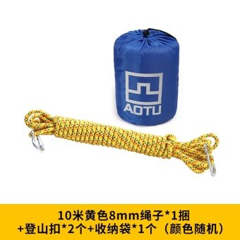 Bump diameter 8 MM outdoor climbing rope rescue rope climbingsafety rope