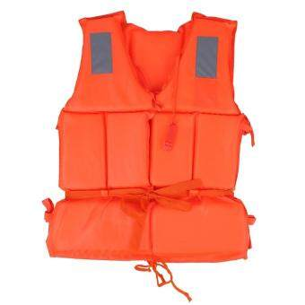 Harga Buoyancy Life Vest Surfing Ski Jacket Orange