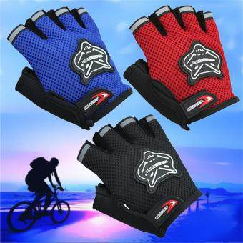 Harga Cycling Gloves Half Finger Bike Gloves Breathable MTB MountainBicycle Gloves Men Sports Netting Cycling Bicycle Glove