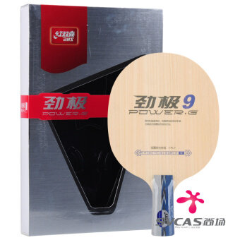 DHS pure wood professional racket Table Tennis floor