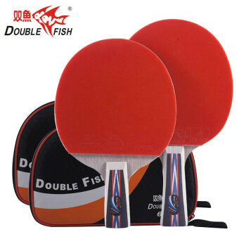 Double fish 6D table tennis ball racket table tennis racket