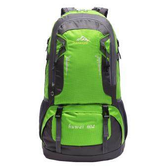 EcoSport 60L Waterproof Outdoor Backpack (Green)