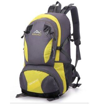 Harga EcoSport Angel Professional Outdoor Climbing Backpack Bag 40L(Yellow)