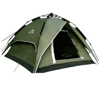 EcoSport Dome Tent For 4 Person (Green)