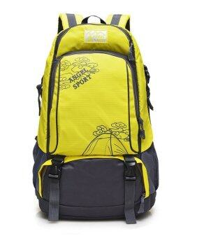 EcoSport FS050L Professional Outdoor Hiking Backpack Bag 40L (Yellow)