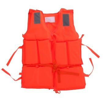 EcoSport Polyester Adult Life Jacket Boating Ski Vest