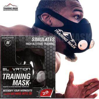 Elevation Training Mask 2.0 High Altitude Fitness Outdoor Sport 2.0Training Mask Supplies Equipment(size:L)