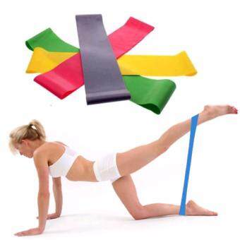 Fancyqube Resistance Band Loop Yoga Pilates Fitness ExerciseWorkout Training