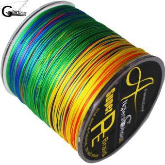 fishing pe line 8 Strands Braided Fishing line 300m Multi ColorSuper Strong Japan Multifilament PE braid line 20LB