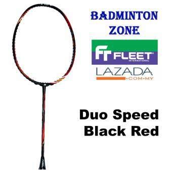 Fleet Duo Speed (1pcs)(3UG2) Blk/Red Badminton Racket