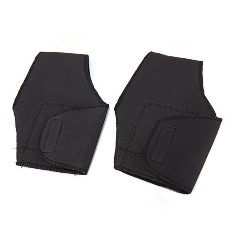 Greenwon Magnetic Self-heating Fiery Therapy Thermal Ankle Pad 2-piece (Black)
