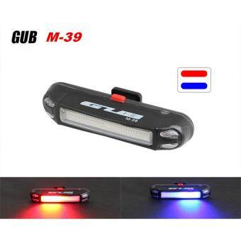 Harga GUB M-39 Mixed colors Bicycle USB Rechargeable LED Light Bike FrontRear Light Outdoor Cycling Warning Lamp Night Safety Taillight