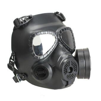 Harga HDL Gas Mask Chemical Anti-Dust Paint Respirator Mask GlassesGameplayer Black (Intl)