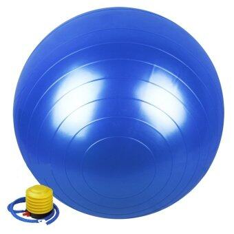 Harga 65cm Anti-Burst Gymball With Foot Pump