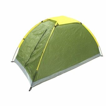 Harga New 1 Man Person Berth Dome Camping Tent Waterproof Lightweight Festival Outdoor