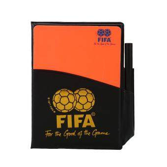 Harga Football Referee Set PU Booklet Wallet Notebook With Red Yellow Judge Cards