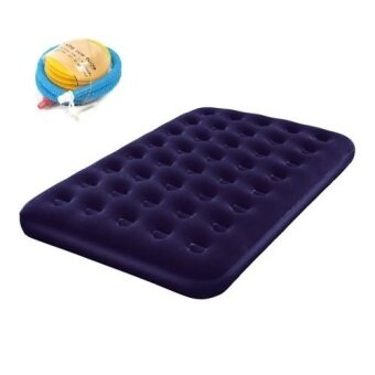 Harga Bestway Twin Plus Flocked Air Bed Mattress + Free Hand Pump