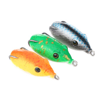 Harga 3pcs Top Mice Lure Fishing Artificial Bait Soft Bait Fishing Tackle