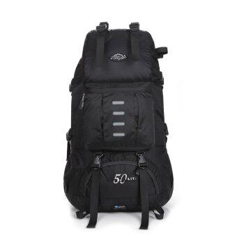 Harga Local Lion Multifunctional Outdoor Sport Backpack 50L Black