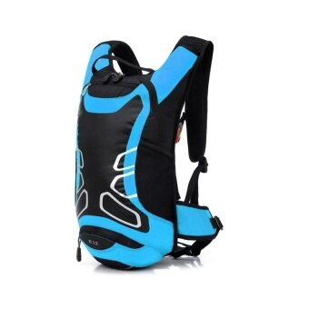 Harga Local Lion Super Light Waterproof Cycling/Sports Backpack 12L Blue