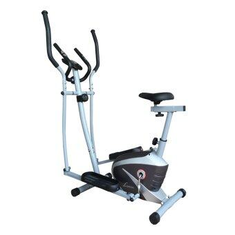 Harga Lexcon Magnetic Resistance Elliptical Cross Trainer with Hand Pulse