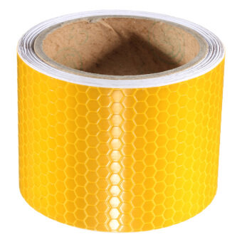 Harga Safety Caution Reflective Tape Warning Tape Sticker self adhesive tape
