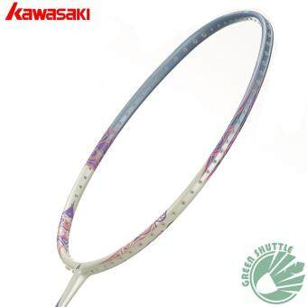 Harga 2017 Kawasaki Bamintion Porcelain 520 Badmintion Racquet Unstrung