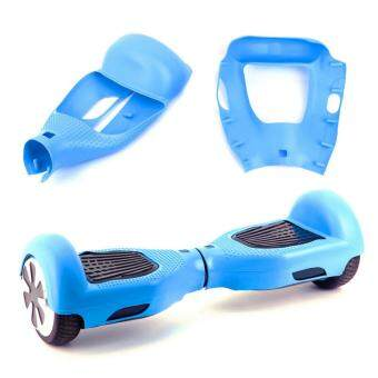 Harga YingWei Two Wheels Silica gel Self Balance Car Smart Drifting Scooter Protective Case Light Blue
