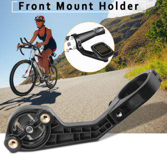 Harga 25.4/31.8mm Out Front Mount for Garmin Edge 200/500/800/510/810/1000 Black OS759