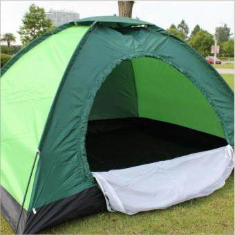 Harga Double single outdoor rain uv tent camping tent(Color random)