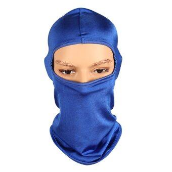 Harga Zora - Motor bike cycling riding sports dust mask with ninja style -blue