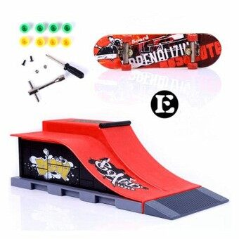 Harga 6 Types Skate Park Ramp Parts for Tech Deck Fingerboard Ultimate Parks E