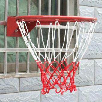 Harga Sports Outdoors Basketball Hoops Durable Nylon Thick Thread Sports Basketball Rim Mesh Net 13 Loops Sport