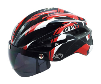 Harga GVR G307V Cycling Helmet(In-Mold) with Magnetic Attachable Visor
