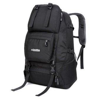 Harga Local Lion LL1055L 50L Waterproof Outdoor Backpack (Black)