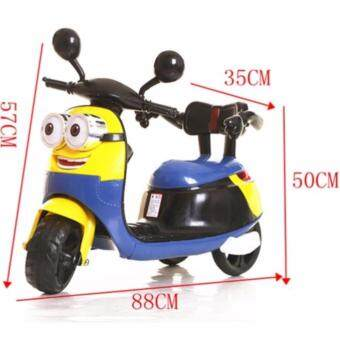 Harga MINION MOTORCYCLE SCOOTER (YELLOW)