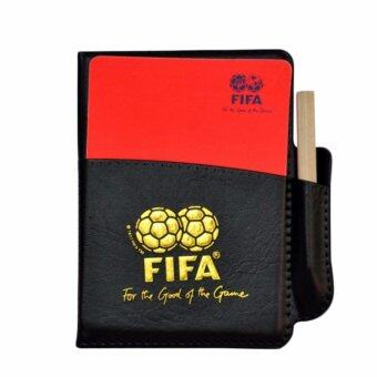 Harga Fancyqube Football Referee Set PU Booklet Wallet Notebook With Red Yellow Judge Cards