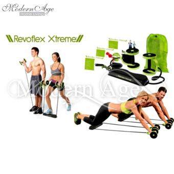 Harga Modern Age Men Woman Fitness Abdominal Trainer Revoflex Xtreme ABS workout Kit Resistance Bands Exercise Multifunction Crossfit Exercise