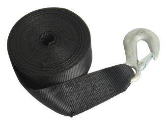 Harga ONE STOP MARINE Winch Webbing Strap 25FT with Snap Hook
